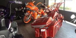 Custom harley & Showroom